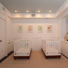 Traditional Nursery by Design Build 4U Chicago