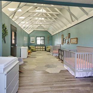 Idée de décoration pour une chambre de bébé craftsman.