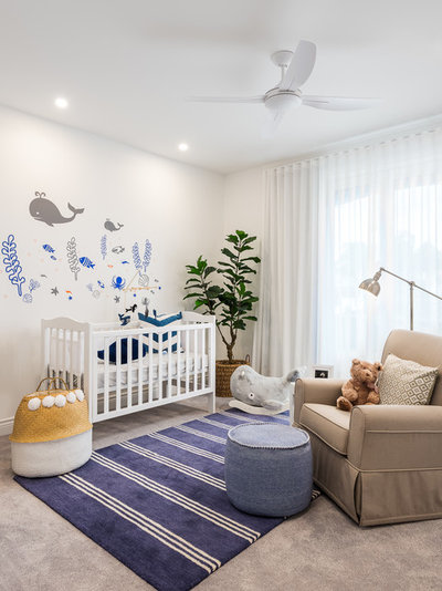 Beach Style Nursery by Michelle Marsden Design