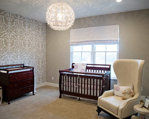 Nursery lighting ideas pictures remodel and decor for Nursery ceiling light fixture