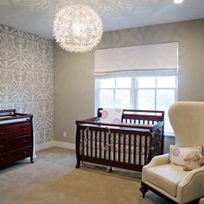 Transitional Nursery by Kris Gorton Design