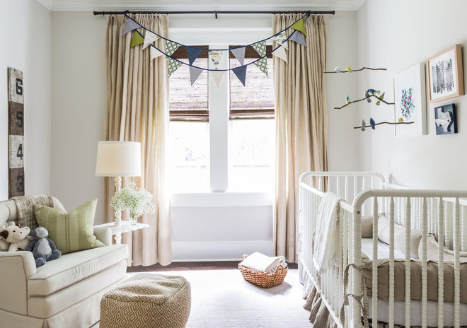 Traditional Nursery by Marie Flanigan Interiors