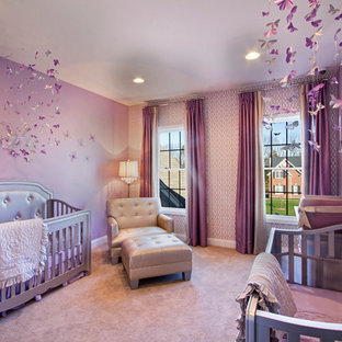 Inspiration for a nursery in New York.