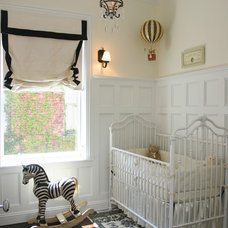 Traditional Nursery by SPACE Architects + Planners