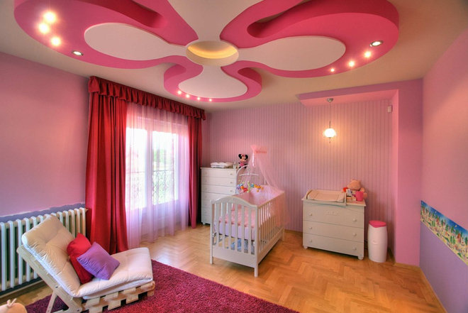 Eclectic Nursery House in Subotica