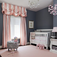 traditional nursery by Merigo Design