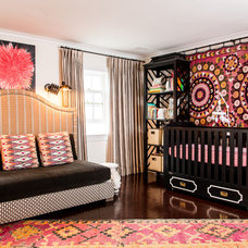 Eclectic Nursery by Cashmere Interior LLC