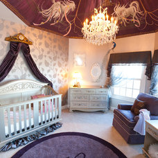 Traditional Nursery by Nisha Tailor Interior Design.LLC