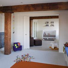 Modern Nursery by Mabbott Seidel Architecture