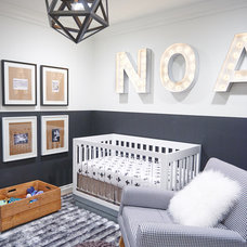 Contemporary Nursery by Lulu Designs