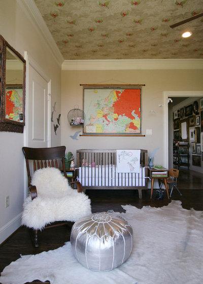 Éclectique Chambre de Bébé by Erika Everett Design