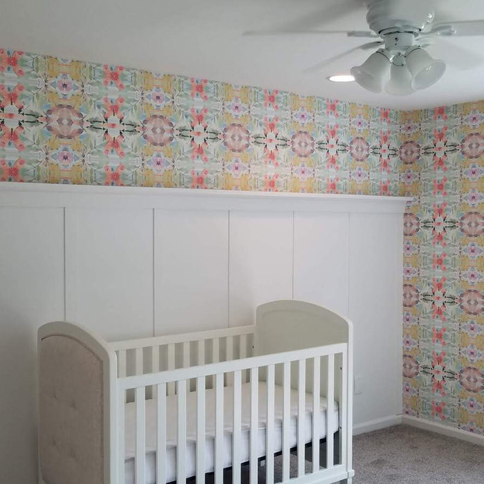 Install: Colorful Nursery