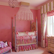 Traditional Nursery by Wendi Young Design