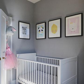 Ivy's Nursery. By Born & Bred Studio.
