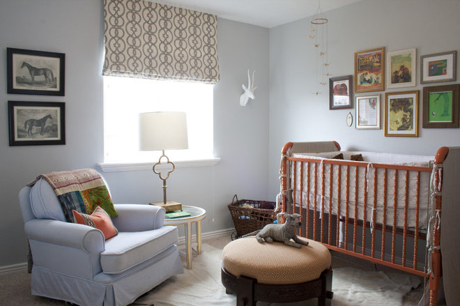 Eclectic Nursery by Alice Lane Home Collection