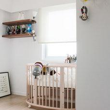 Modern Nursery by hoo Interior Design & Styling