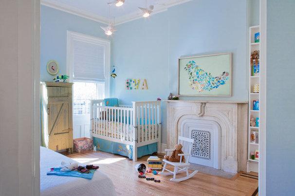 Modern Nursery by Jen Talbot Design