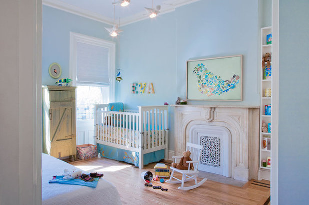 Transitional Nursery by Jen Talbot Design