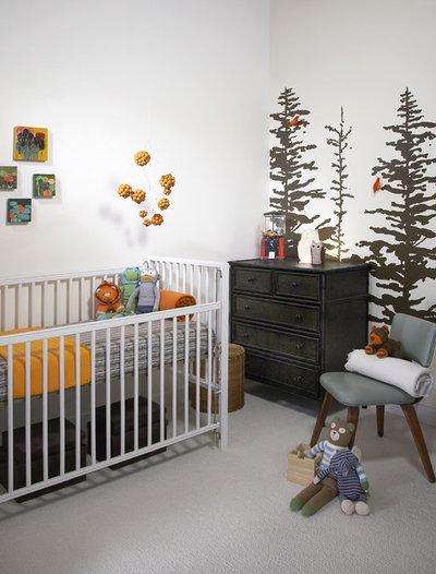 Moderne Babyværelse by Jen Talbot Design
