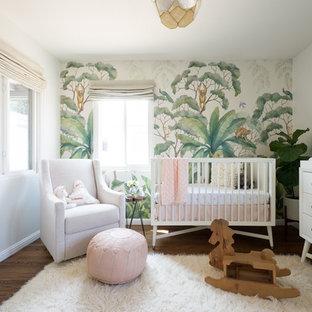 Jungle + Blush Girl's Nursery