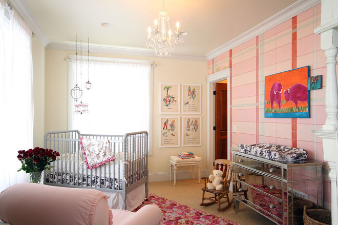 Eclectic Nursery by Abby Hetherington Interiors