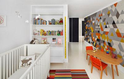 Room of the Day: Felt Creates a Happy Feeling in a Boston Nursery