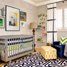 Contemporary Nursery by J & J Design Group, LLC.