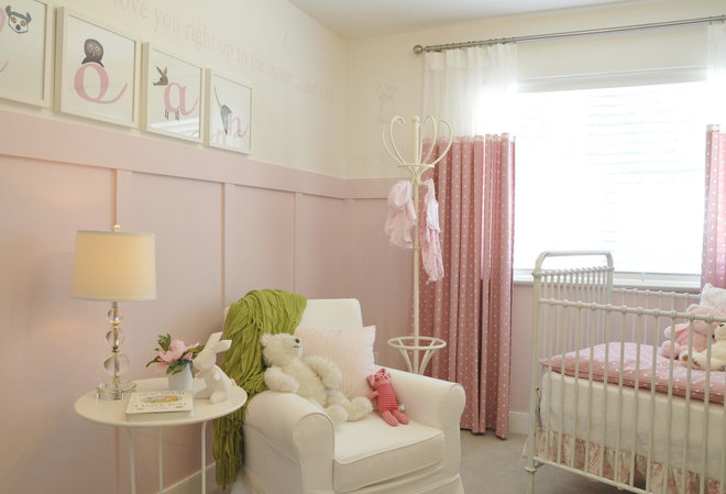 Transitional Nursery by Warline Painting Ltd.