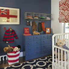 Traditional Nursery by Kate Jackson Design