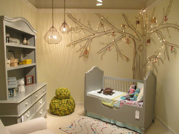 Modern Nursery by Design Associates