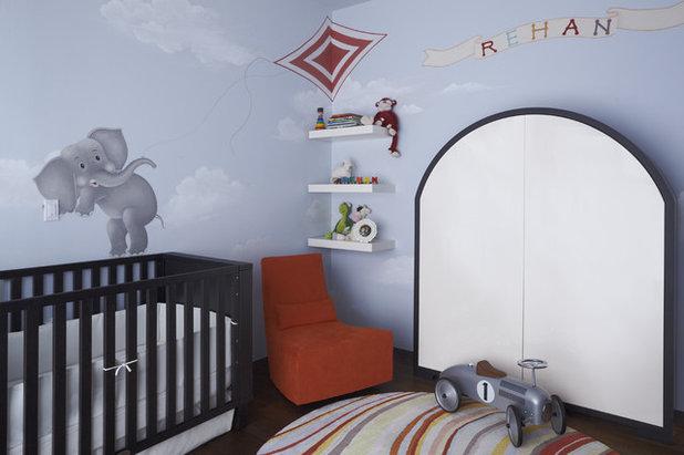 Contemporary Nursery by PURVI PADIA DESIGN