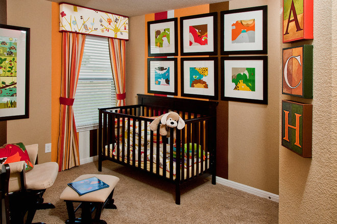 Contemporary Nursery Killeen Model Stylecraft Builders