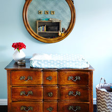 Traditional Nursery by Rae McConville Interiors LLC