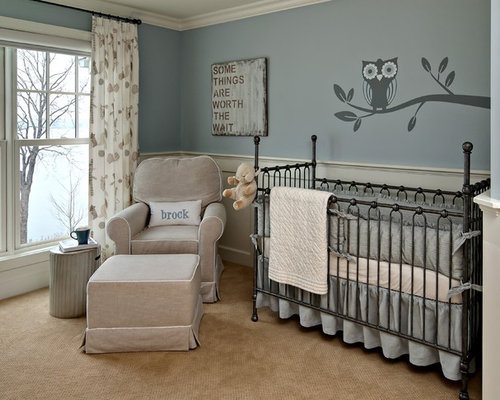 Baby boy nursery ideas home design ideas pictures for Baby room mural ideas