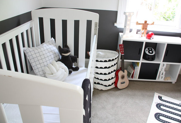 Contemporary Nursery by Max and Duke