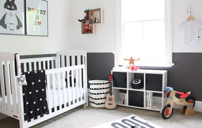 Room of the Day: High Contrast for a Toddler's Room