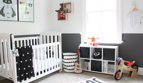 Stickybeak of the Week: A Monochromatic Room for a Growing Toddler