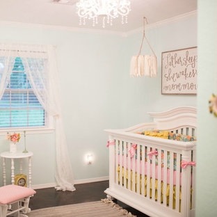 Design ideas for an eclectic nursery in Columbus.