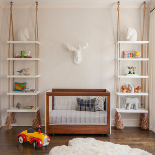 Design ideas for an eclectic nursery in Chicago.
