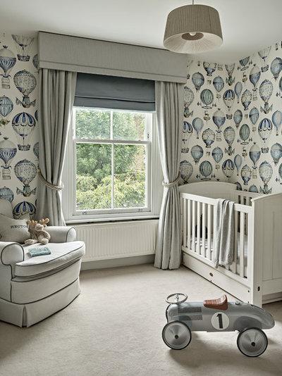 Неоклассика Комната для малыша by Lily Paulson-Ellis Interior Design