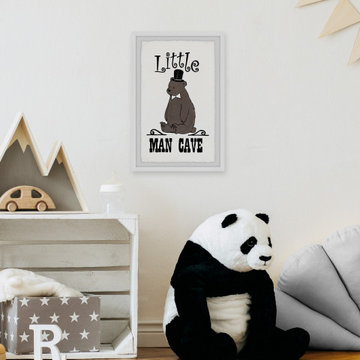 """""""Little Man Cave"""" Framed Painting Print"""