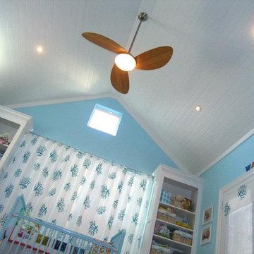 Lofty Room Design for Beach Baby