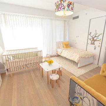 Los Angeles Duplex Kids Bedroom