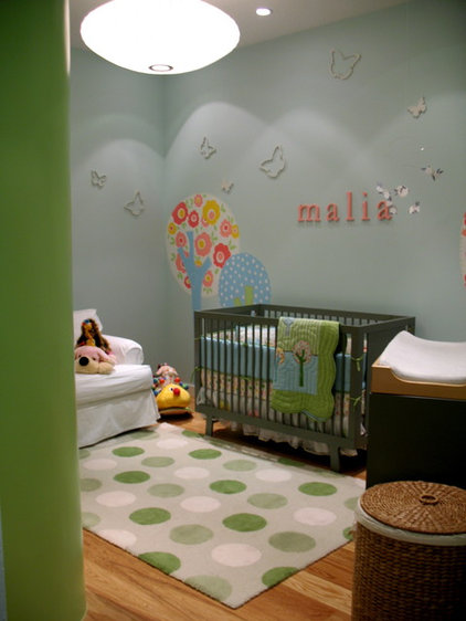 Contemporary Nursery by Denica Smith