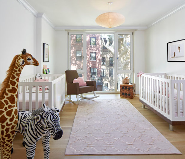 Perfect Transitional Nursery by D cor Aid