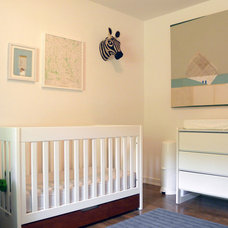 Midcentury Nursery by Sarah Greenman
