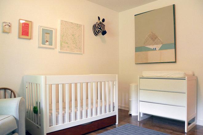 Midcentury Nursery by Sarah Greenman