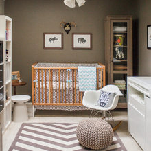 Nestle into these nursery chairs