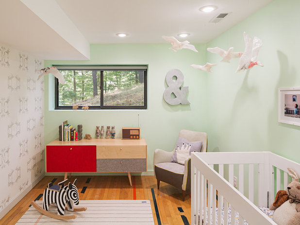 rtro chambre de bb by studiorobert jamieson - Chambre Fille Vert Pastel