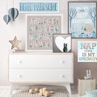 Metallic Wall Art for Babies & Kids